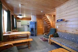 Olohuone ja keittiö Ylläs-Niiles
